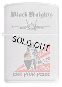 <VFA-154 Black Knights ZIPPOライター 設立60周年記念 新品>