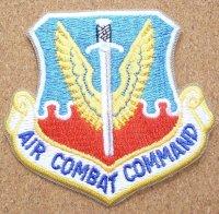 <実物ベルクロ仕様パッチ 米空軍航空戦闘軍団 AIR COMBAT COMMAND>