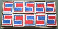 <朝鮮戦争1955年納品デッドストック 実物米陸軍第69師団パッチ>