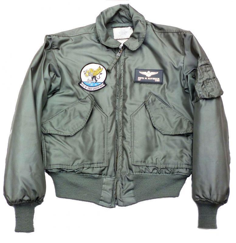 画像1: <HS-9 実物CWU-45P フライトジャケット Lサイズ USED>