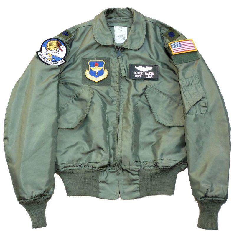 画像1: <米空軍第39飛行訓練隊 実物CWU-36P フライトジャケット Mサイズ USED>