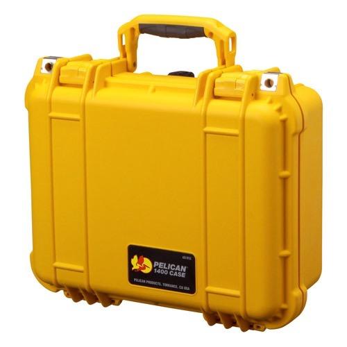 画像1: <PELICAN ペリカン 1400 CASE 色=黄 銃器や道具入れ ケース 未使用品>