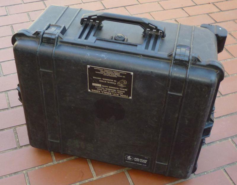 画像1: <実物米軍 PELICAN ペリカン 1610 CASE 道具入れ ケース USED>