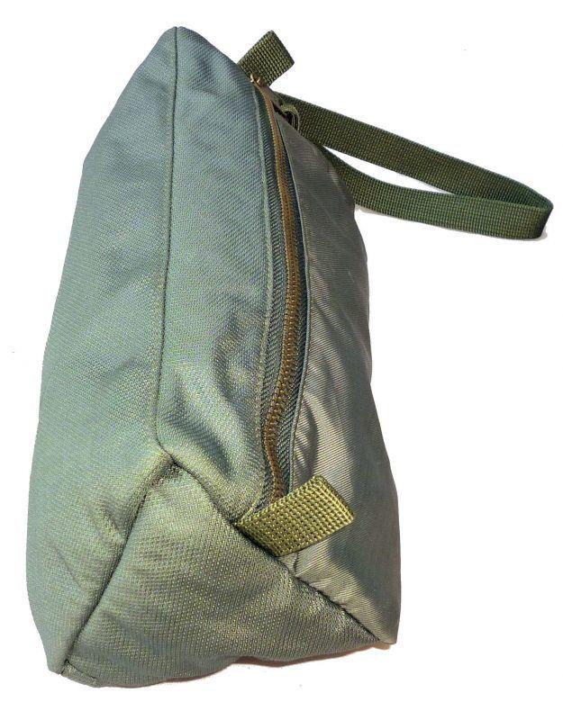 画像3: <MIL Fabric 実物CWU-36/P リメイク 三角柱ポーチ バッグ>