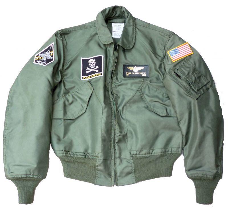 画像1: <VFA-103 実物CWU-36P フライトジャケット Mサイズ 美品>