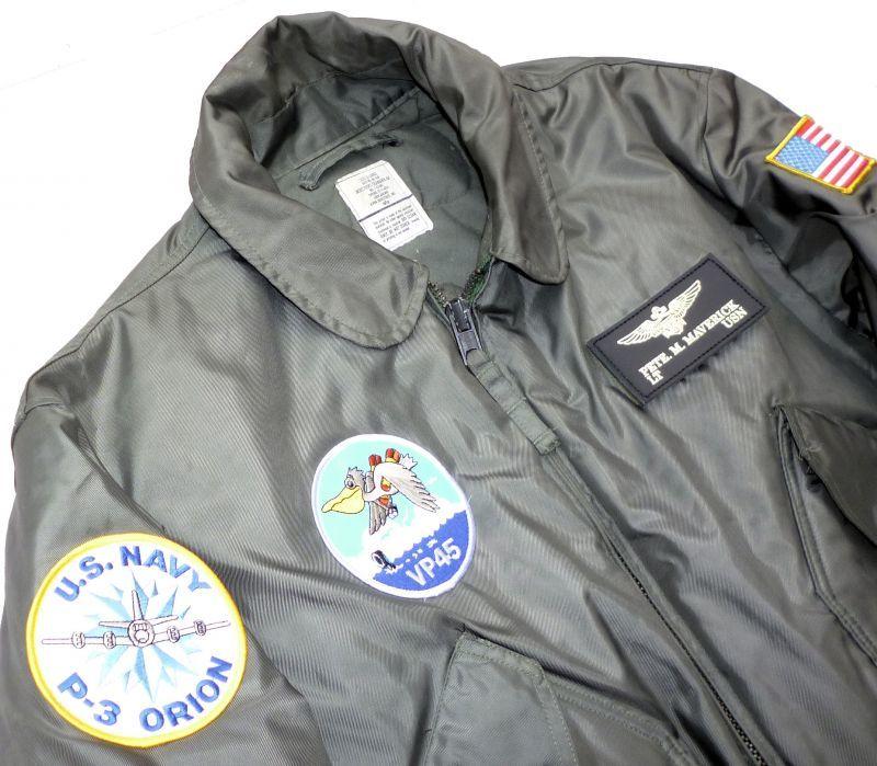 画像2: <VP-45 実物CWU-45/P フライトジャケット XLサイズ USED>
